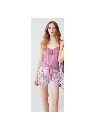 Feyza Pijama Takım Pembe